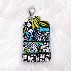 Vera Bradley Floral Phone Case Holder Keychain